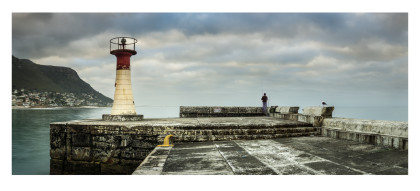 'Just the two of us...Kalk Bay', 105 x 45, R 4 800